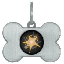 Framed Pet tag of MYETV (customizable)