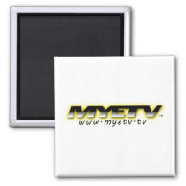 Merchandize with MYETV logo Magnet