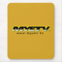 MYETV Mouse Mat (Goldenrod - Vertical)