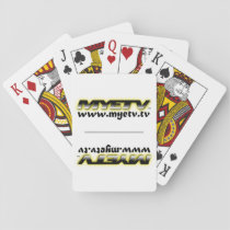 MYETV playing cards