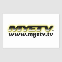 MYETV stickers (transparent)