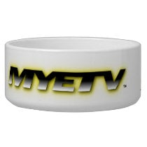MYETV's Pet Bowl (Customized)